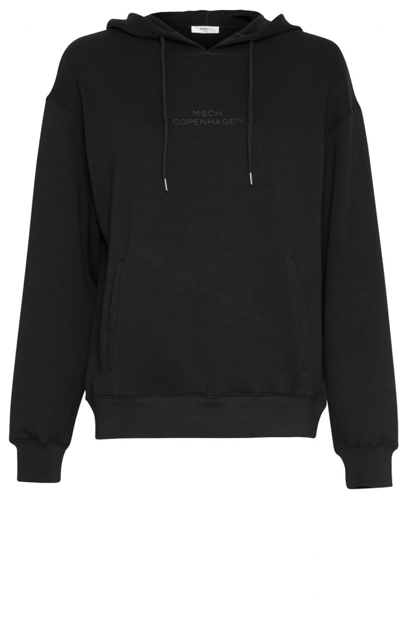 Moss Copenhagen Dames IMA hoodie Zwart
