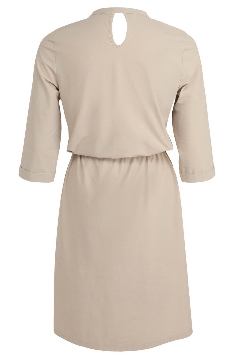 Penn & Ink Dames Jersey jurk Bruin