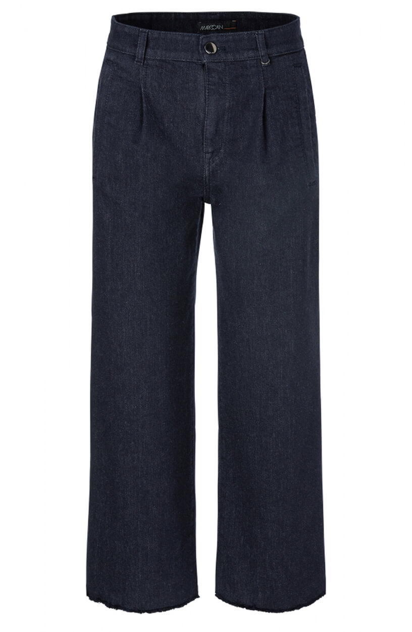 Marccain Sports Dames Culotte jeans Blauw