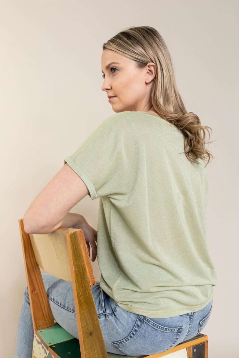 Mos Mosh Dames Kay shirt Groen