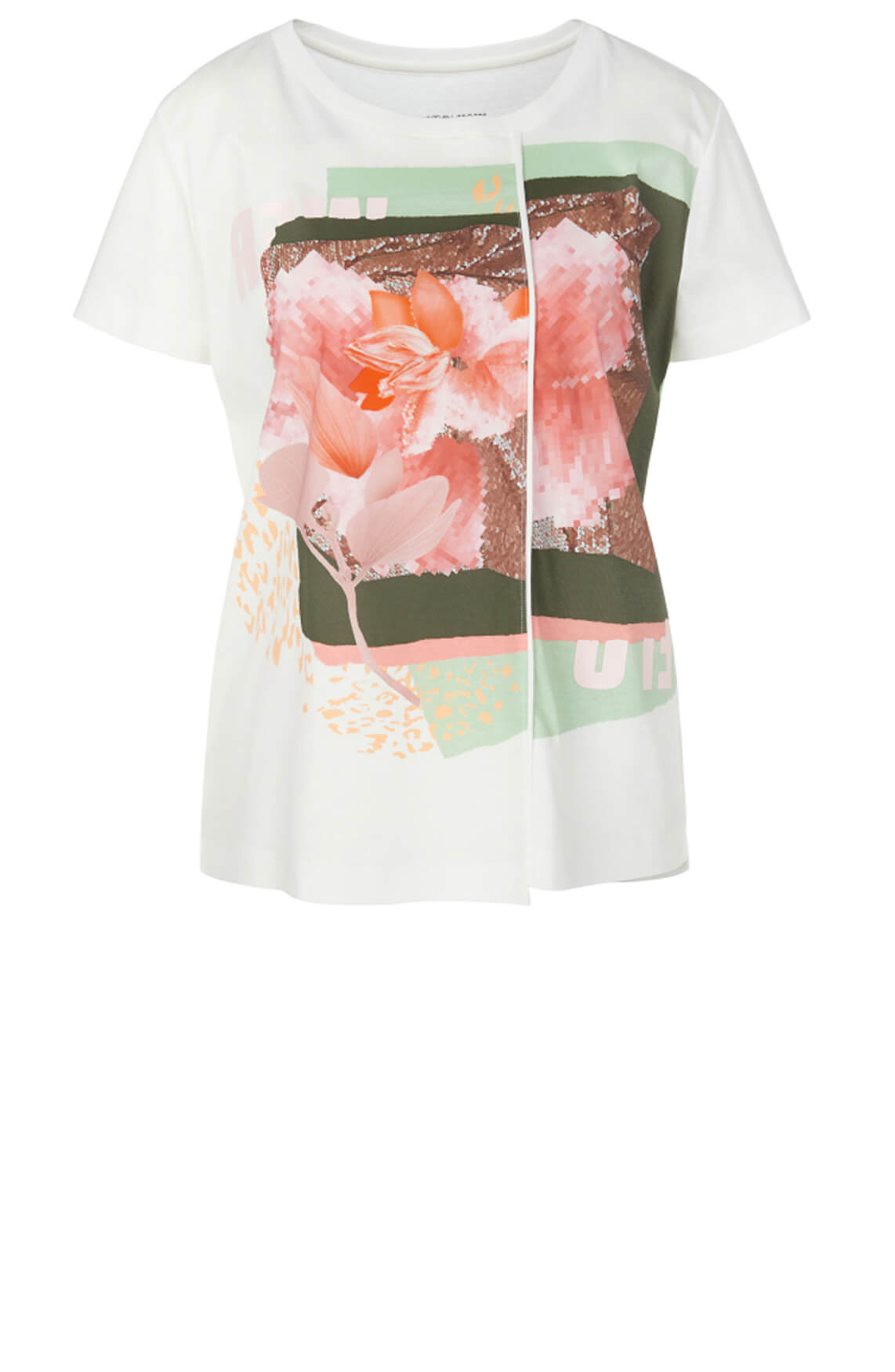 Marccain Sports Dames Shirt met print Wit