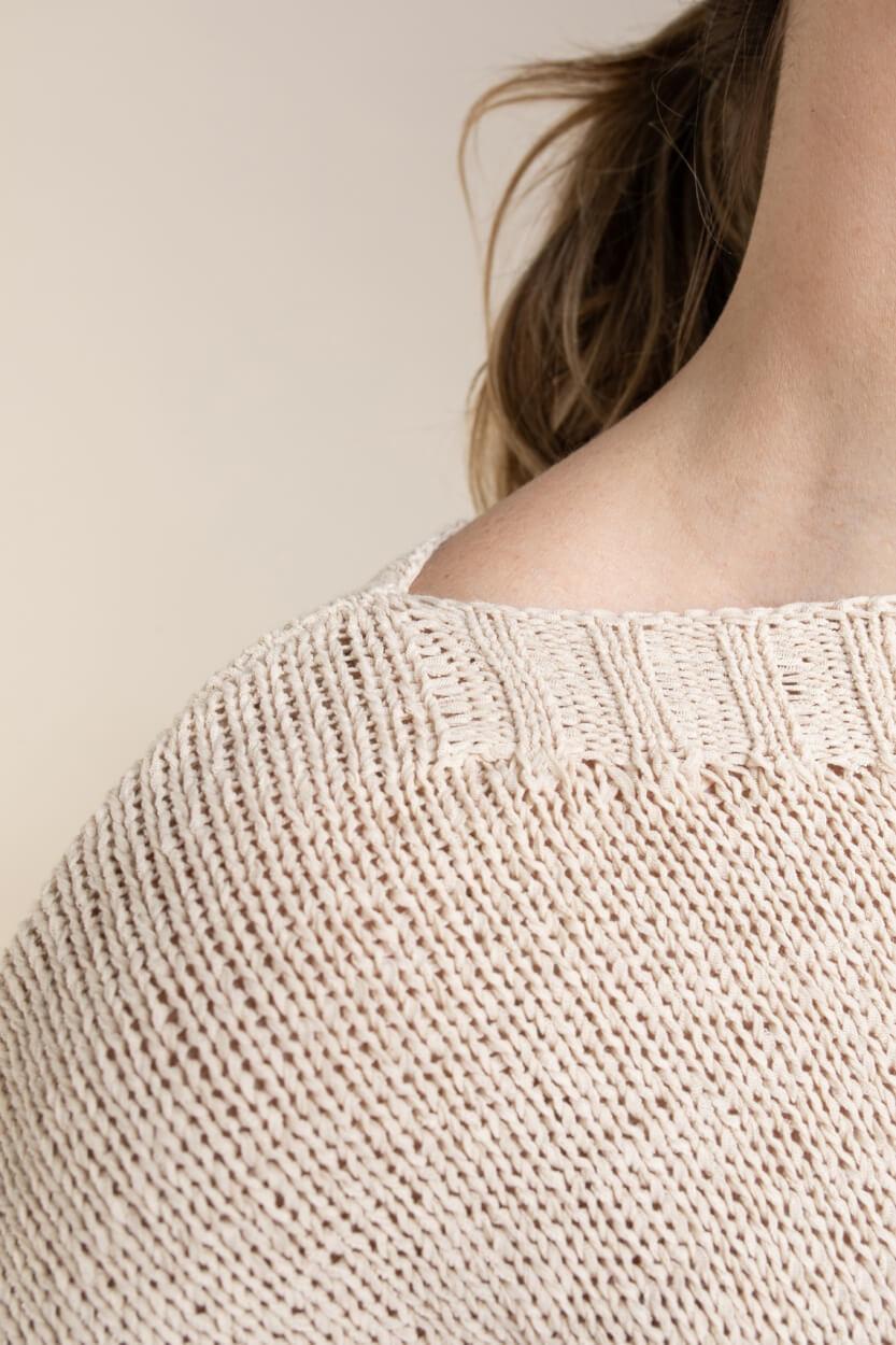 Emotions Dames Gehaakte pullover Bruin