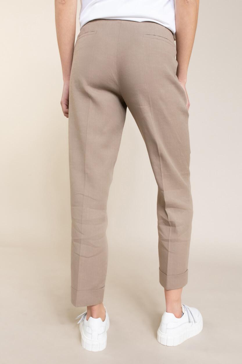Cambio Dames Krystal pantalon Bruin