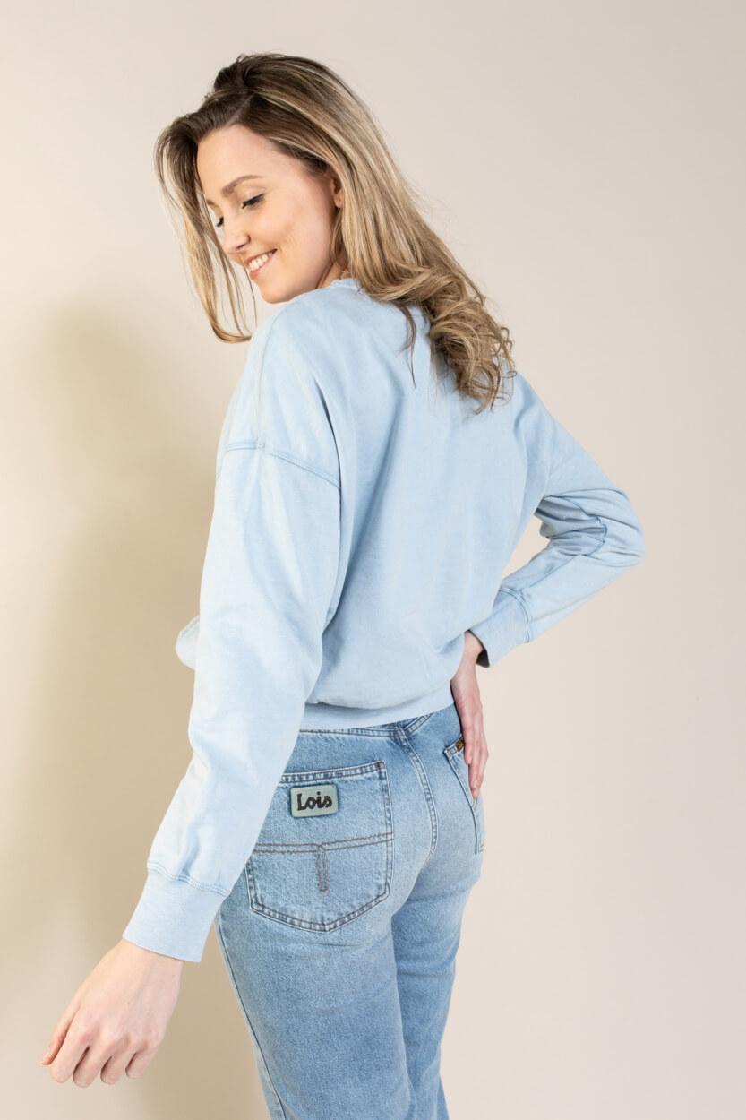 Drykorn Dames Resali pullover Blauw