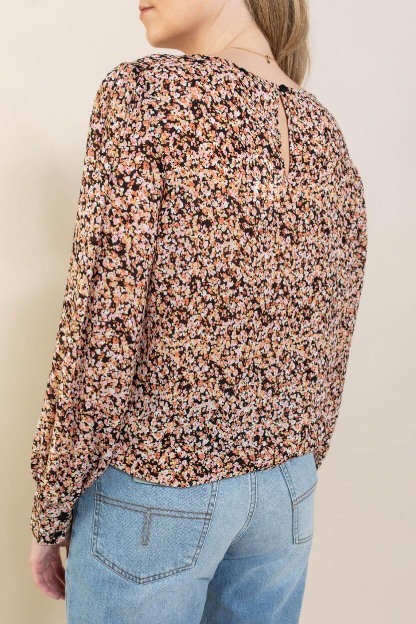 Moss Copenhagen Dames Merila blouse Zwart
