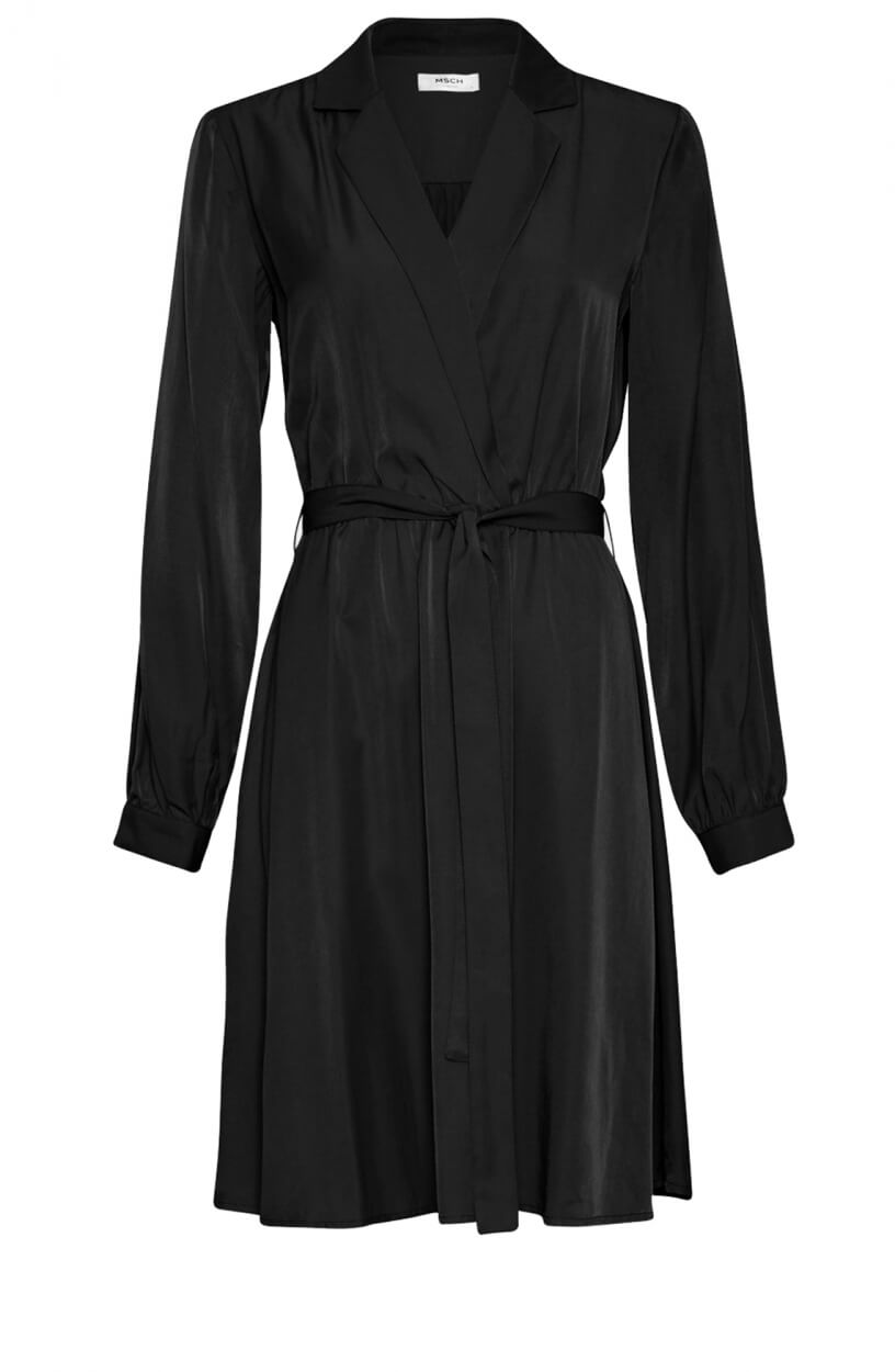 Moss Copenhagen Dames Nille jurk Zwart