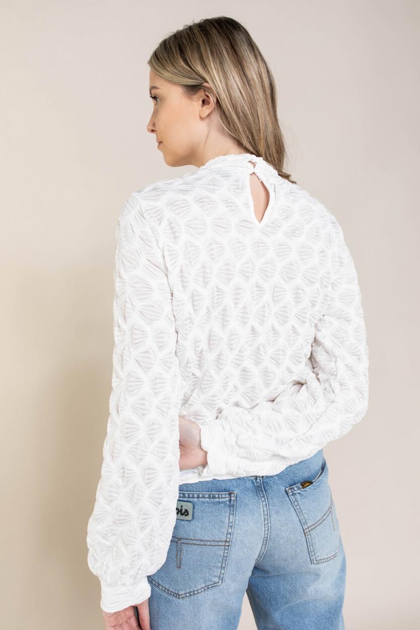 Moss Copenhagen Dames Maleca blouse Wit