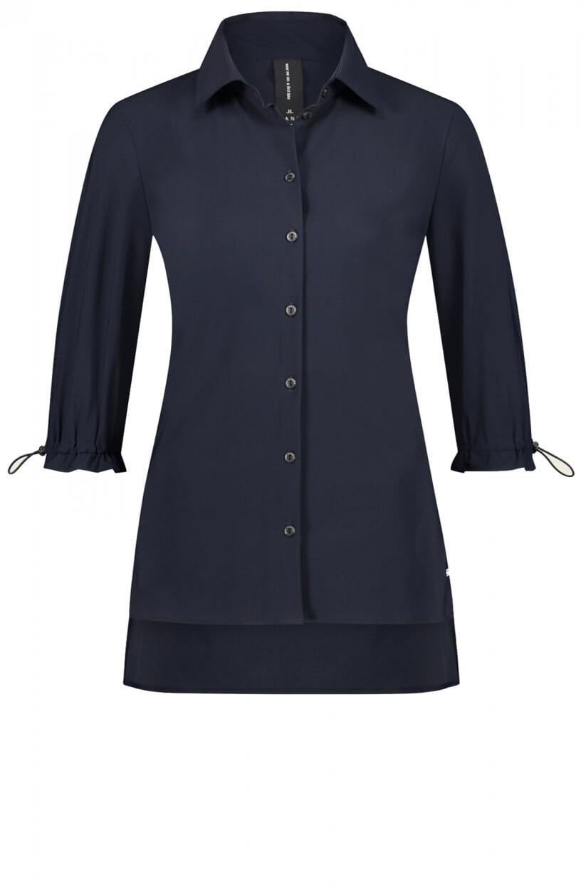 Jane Lushka Dames Flora blouse Blauw