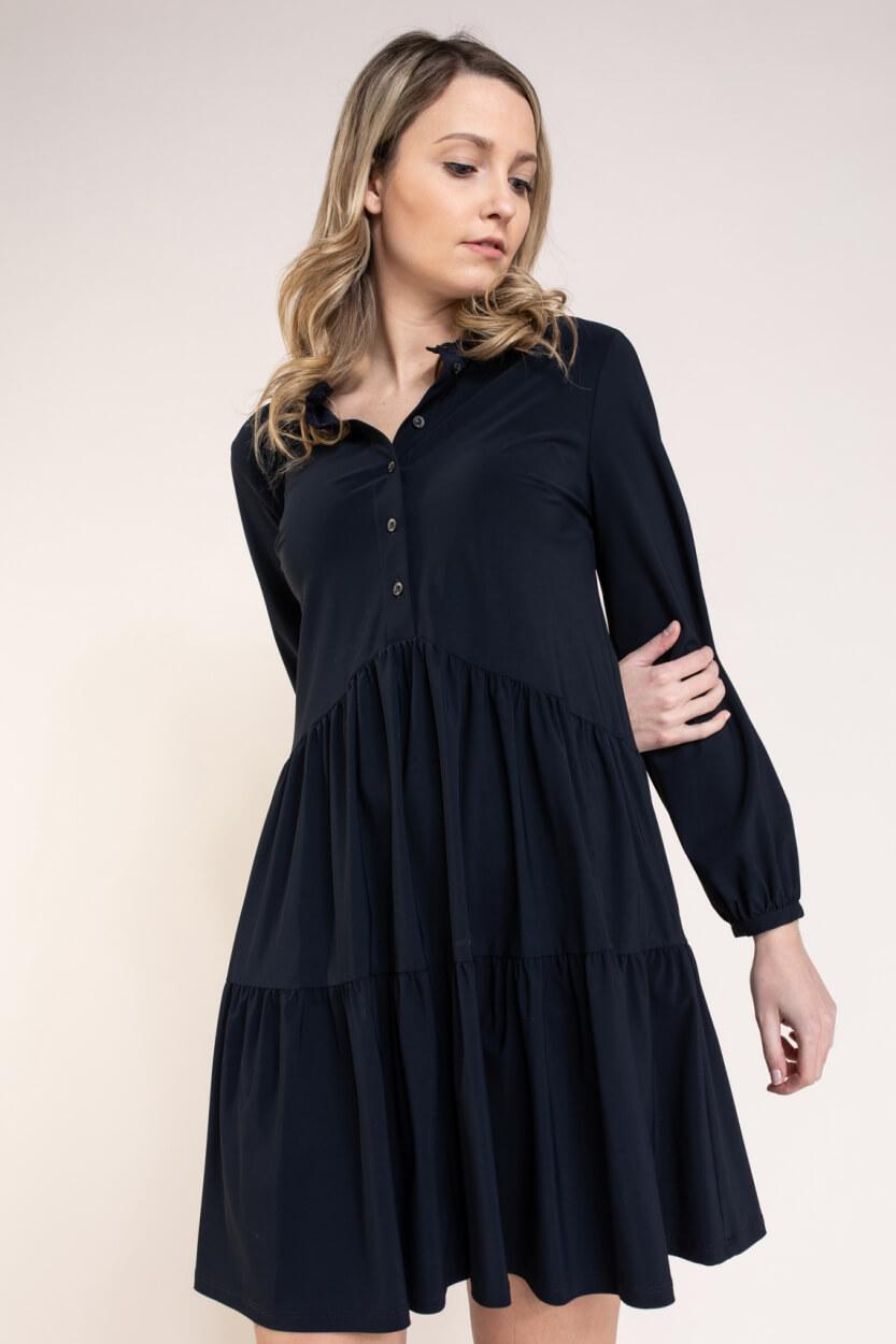 Jane Lushka Dames Anna jurk Blauw