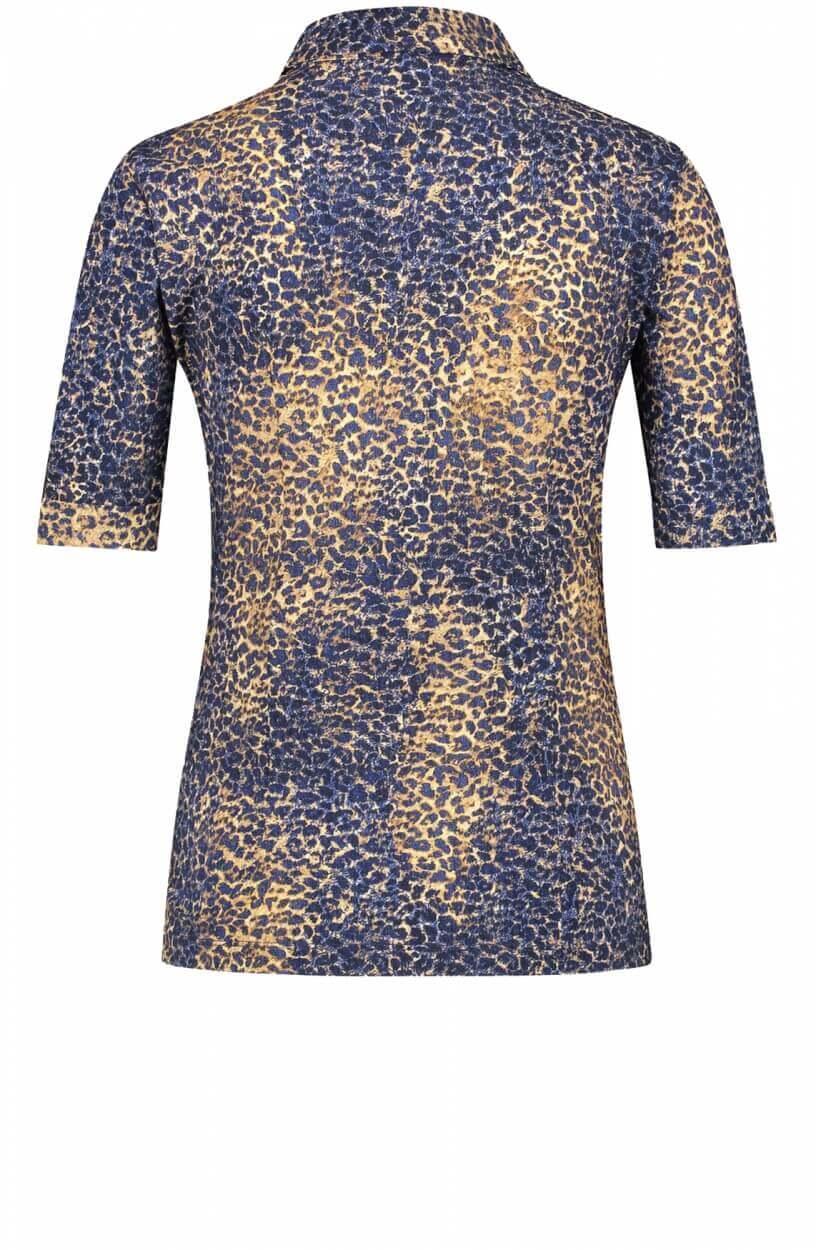Jane Lushka Dames Lida blouse Blauw