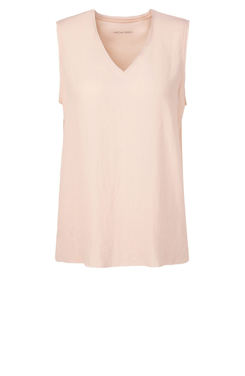 Marccain Sports Dames Materiaalmix top Roze