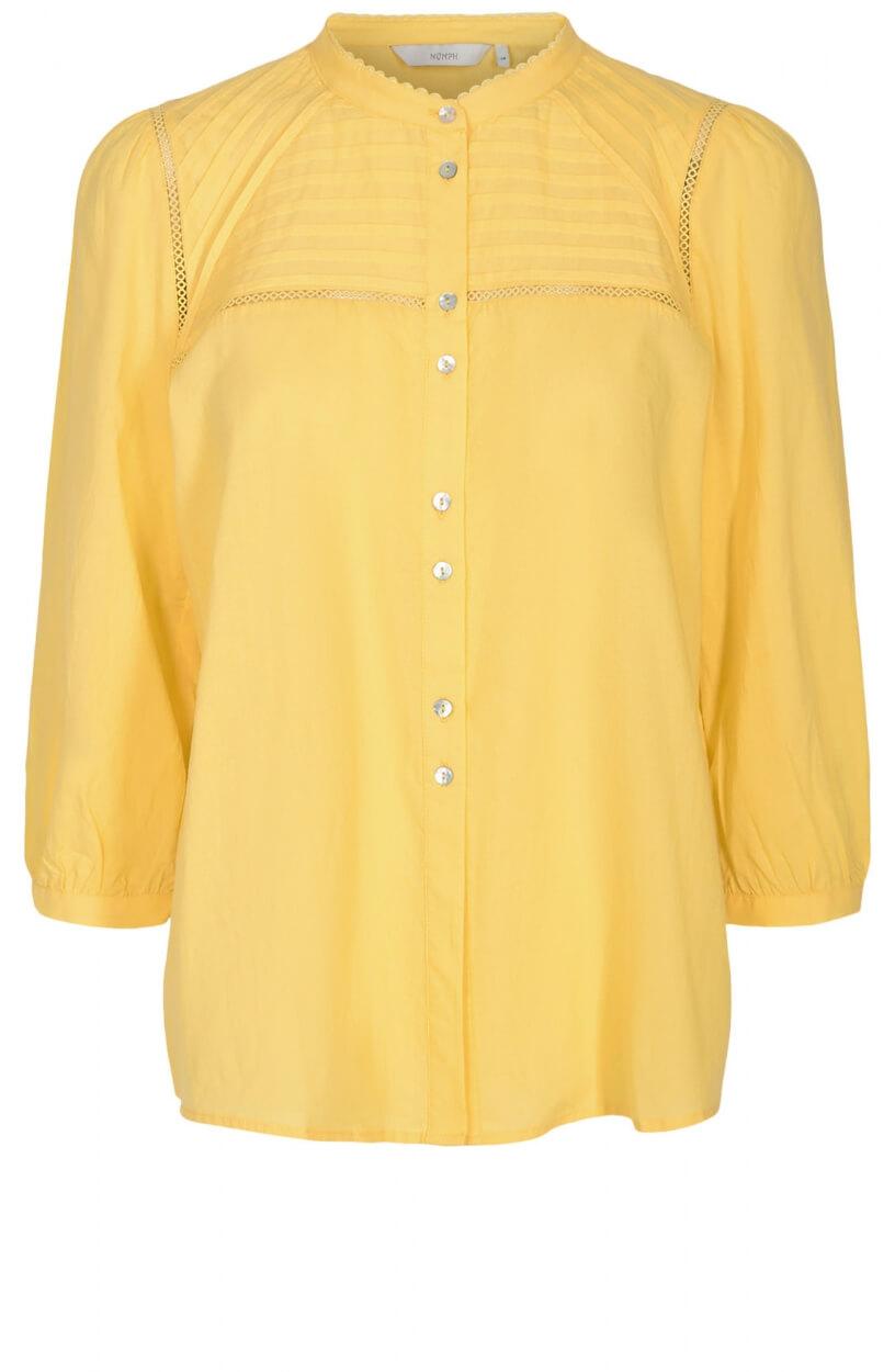Nümph Dames Cindy blouse Geel