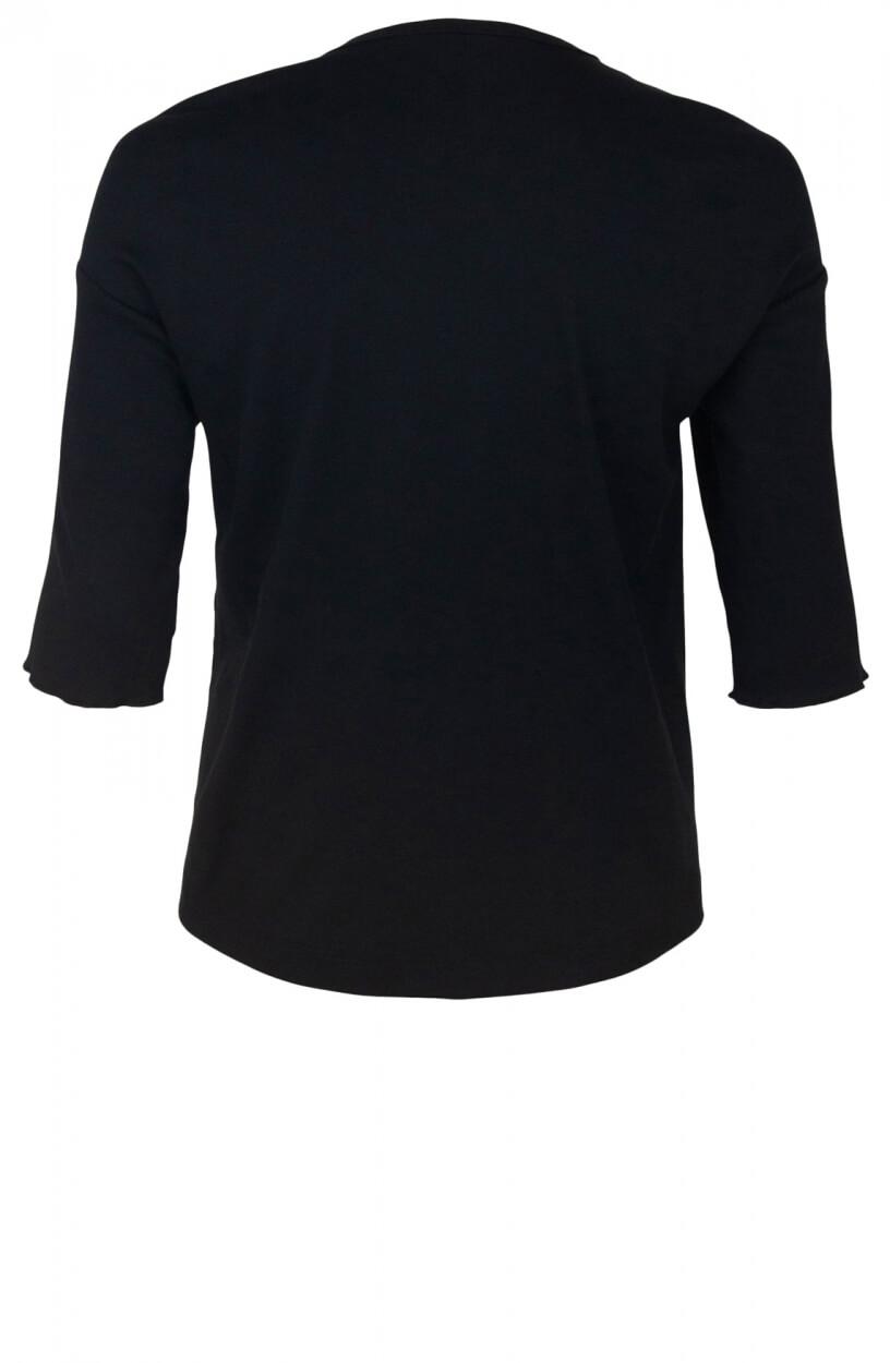 Marccain Sports Dames v-hals blouse Zwart