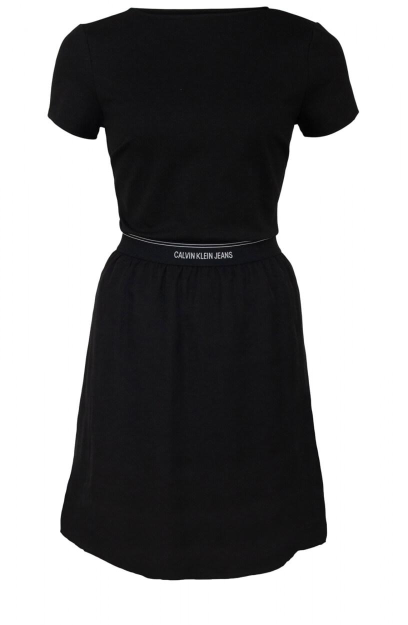 Calvin Klein Dames Jurk Zwart