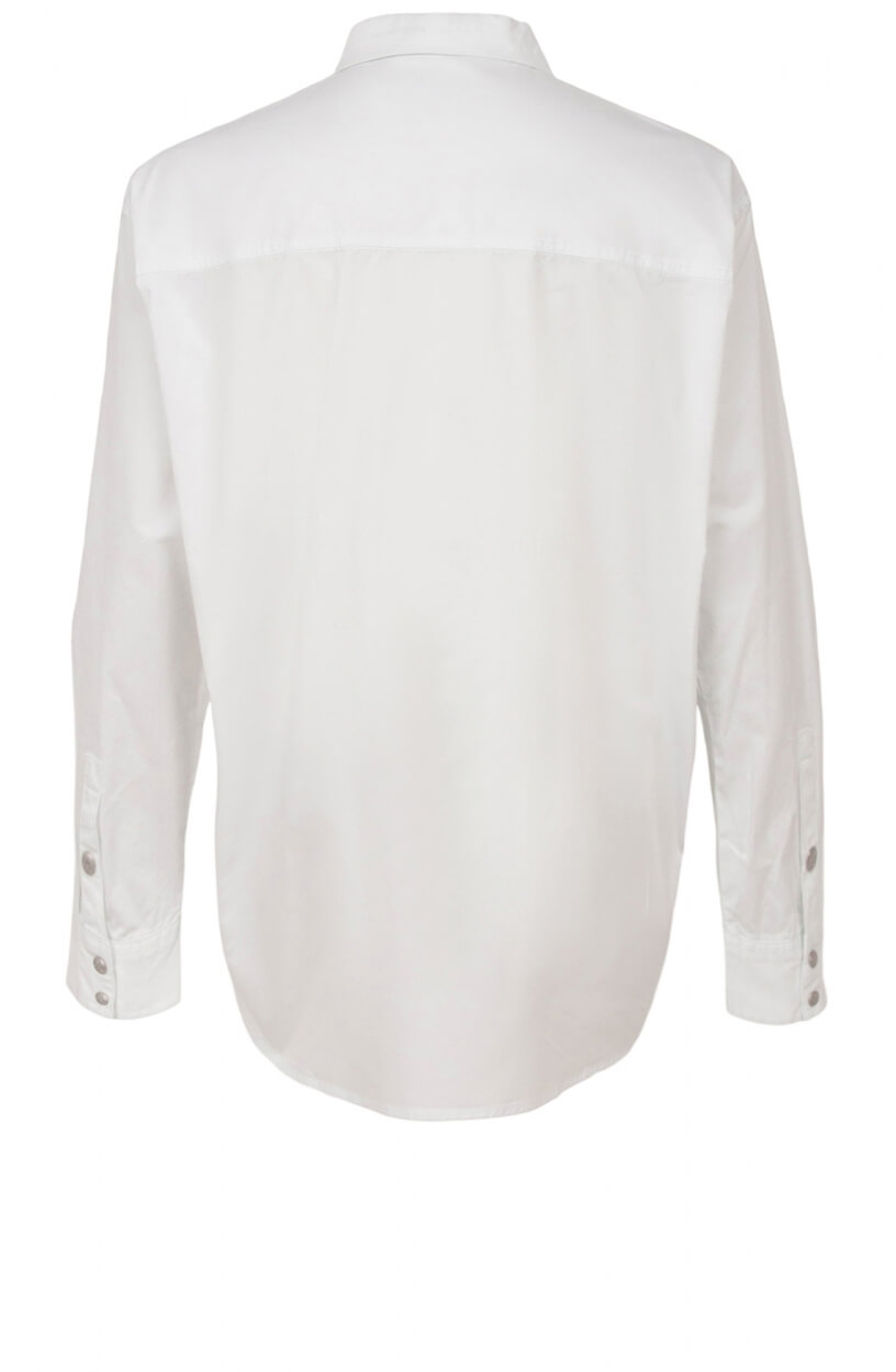 Calvin Klein Dames Oversized blouse Wit