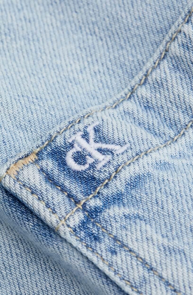 Calvin Klein Dames Denim jack Blauw