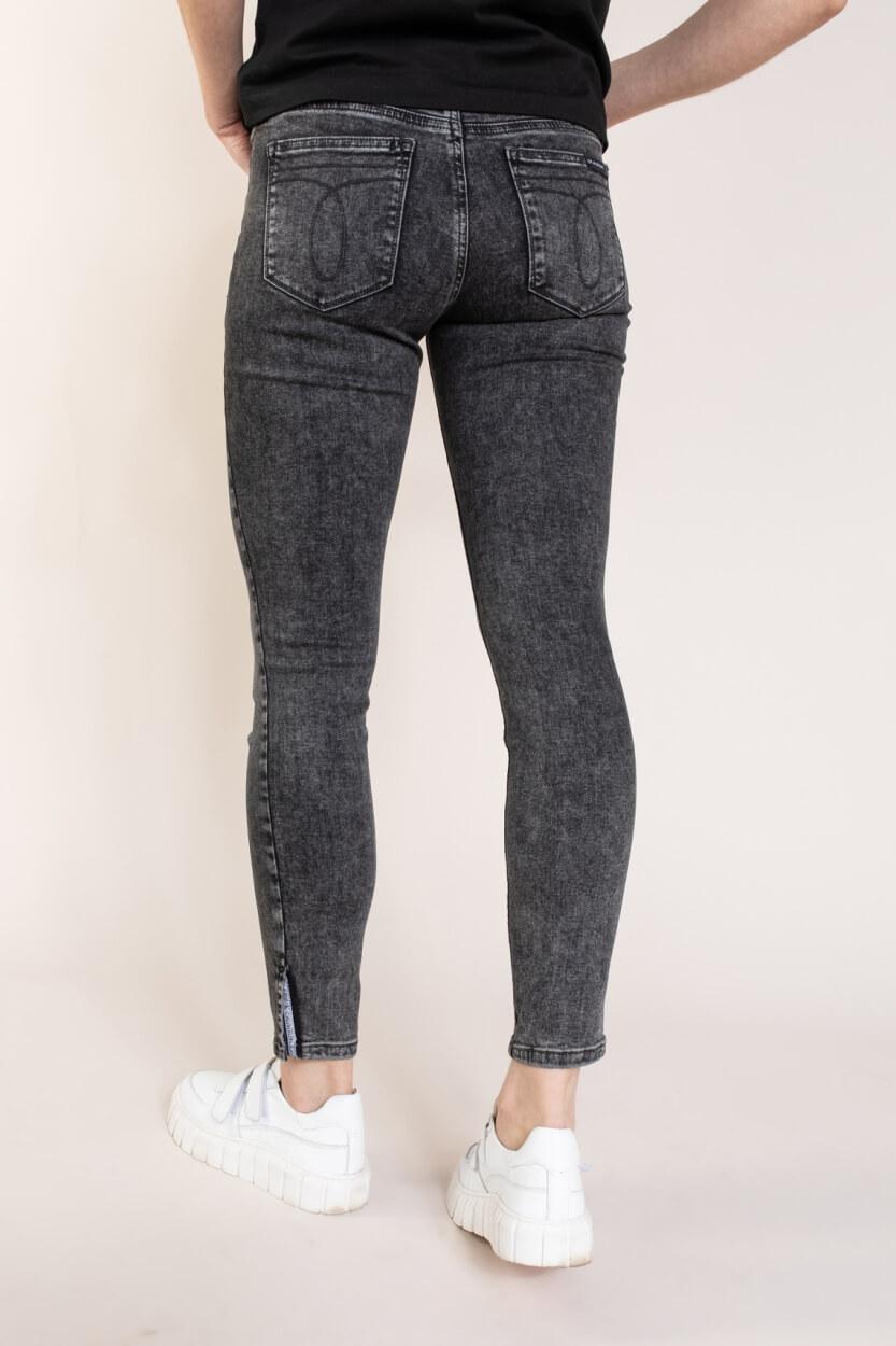 Calvin Klein Dames Skinny jeans Blauw