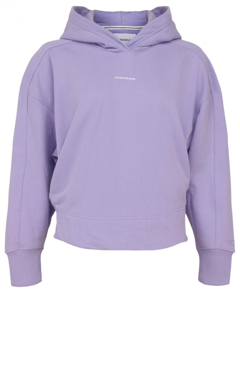 Calvin Klein Dames Logoprint sweater Paars