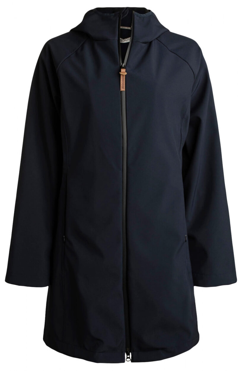 Moscow Dames Electra softshell jas Blauw