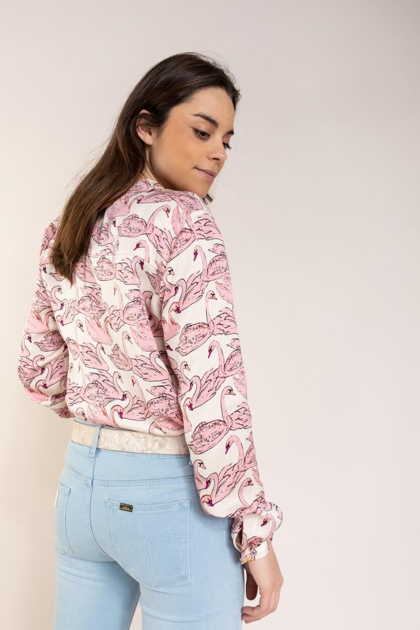 Fabienne Chapot Dames Sunset blouse Roze