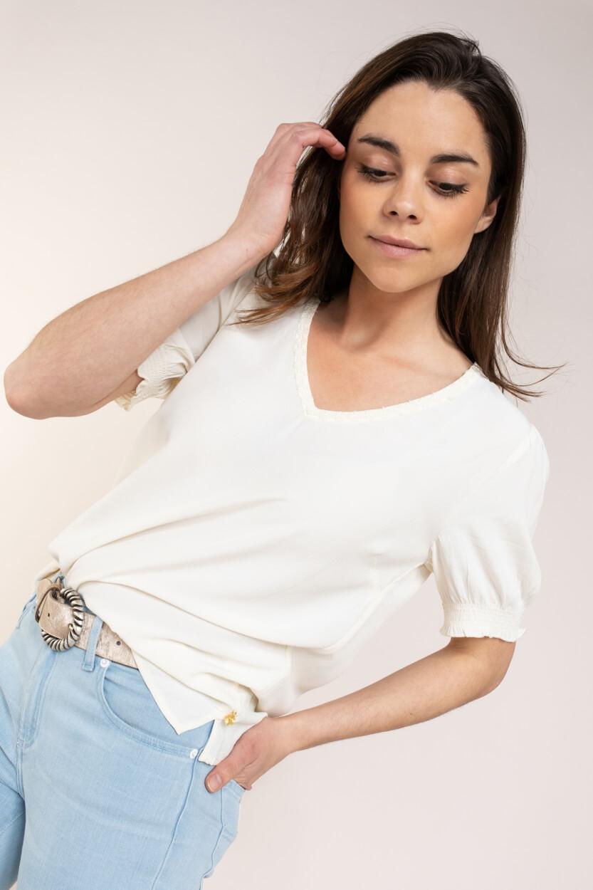 Fabienne Chapot Dames Donna blouse Wit