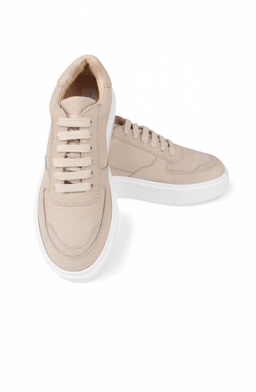 Deabused Dames Suède sneaker Bruin