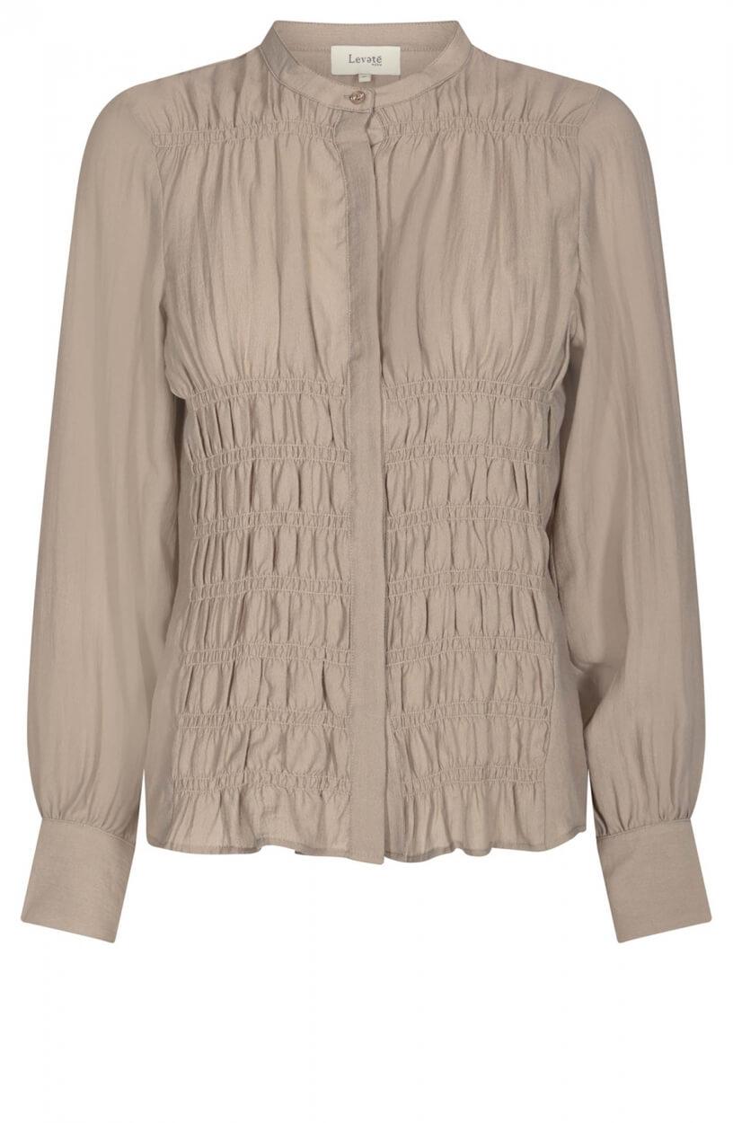 Levete Room Dames Monica blouse Grijs