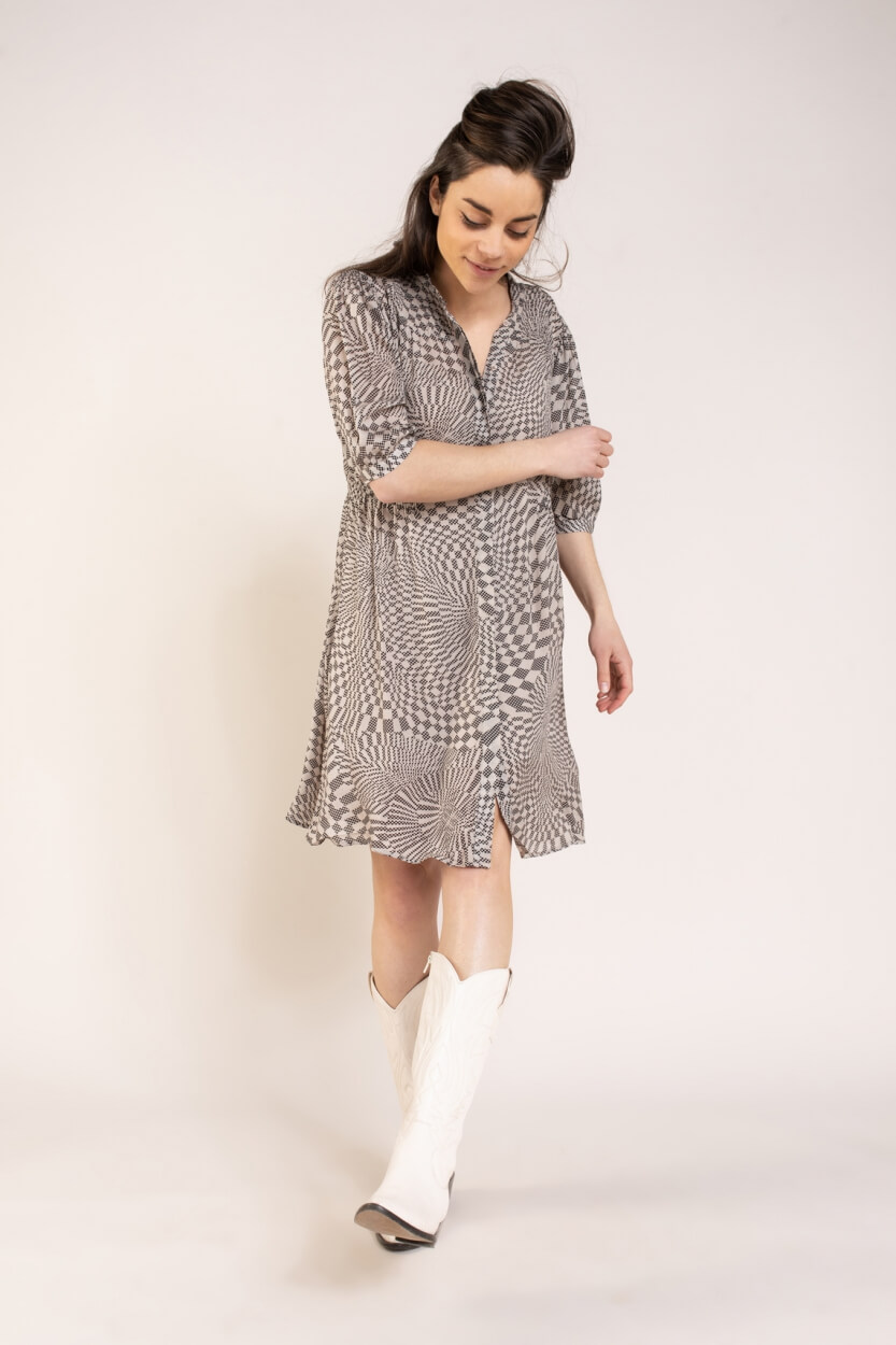 Levete Room Dames Mathilde jurk Wit