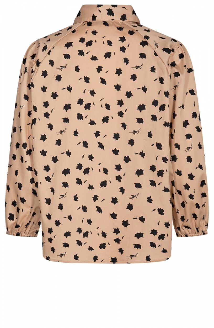 Levete Room Dames Miriam blouse Bruin