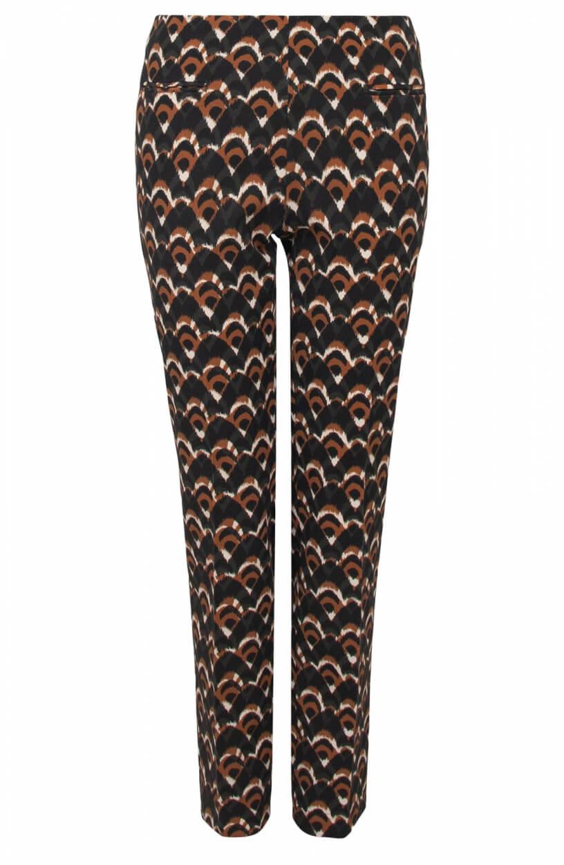 Gardeur Dames Zene pantalon Bruin