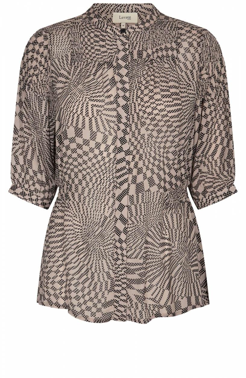 Levete Room Dames Mathilde blouse Wit