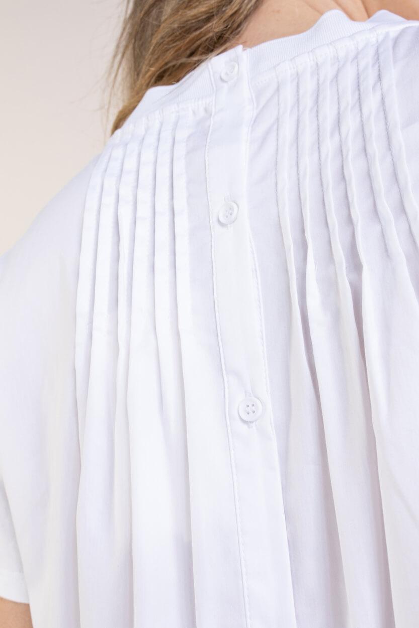 Levete Room Dames Kowa blouseshirt Wit