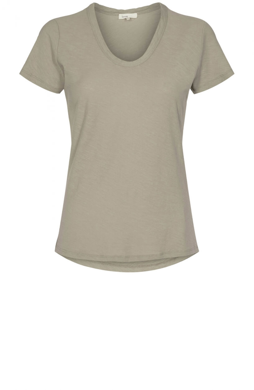 Levete Room Dames Any shirt Grijs