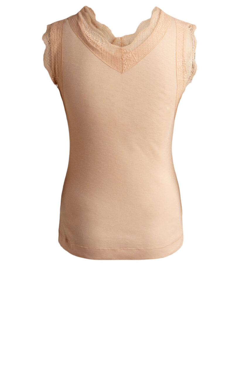 Moscow Dames Lace top Roze