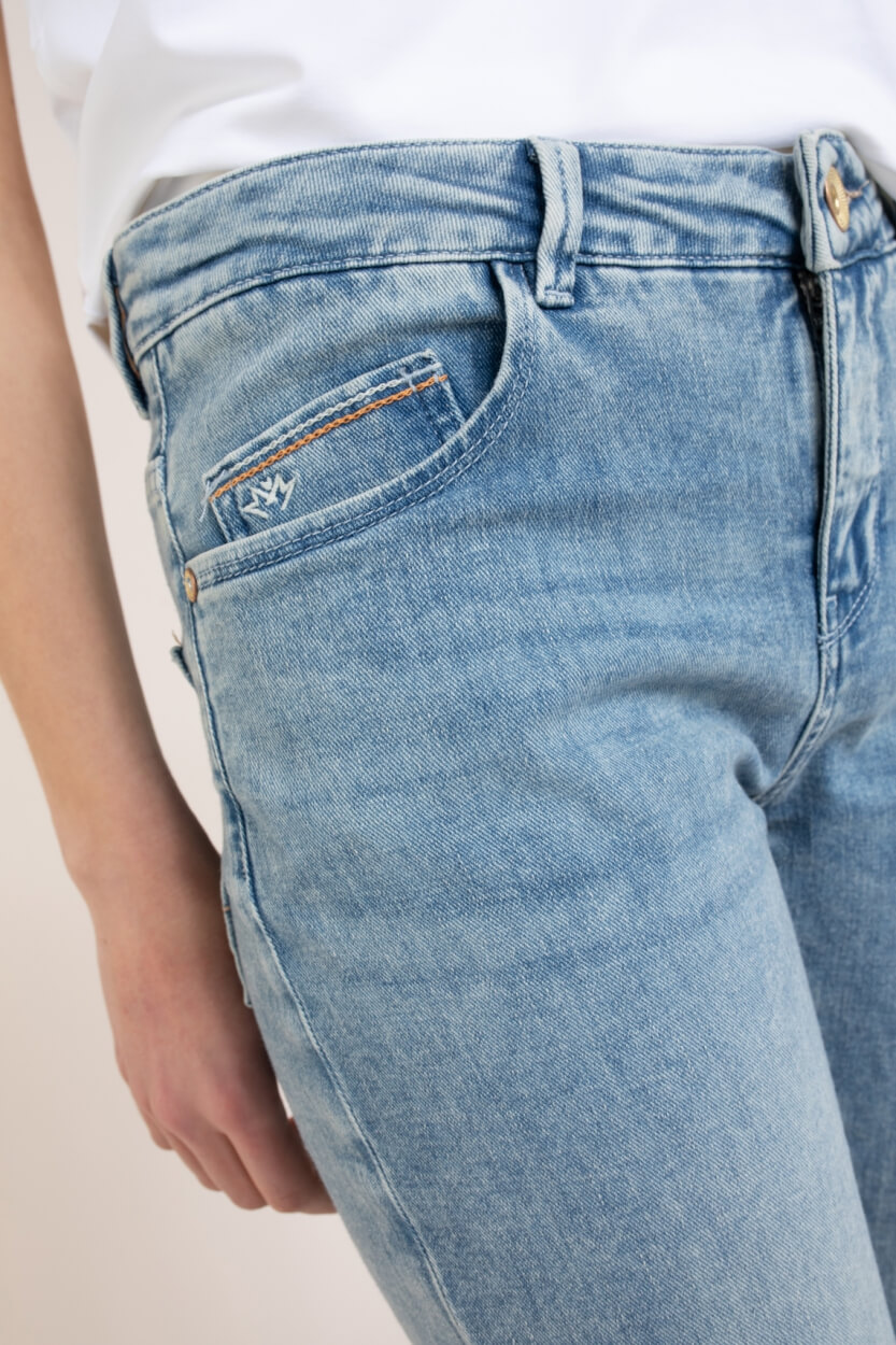 Mos Mosh Dames Bradford smooth jeans Blauw