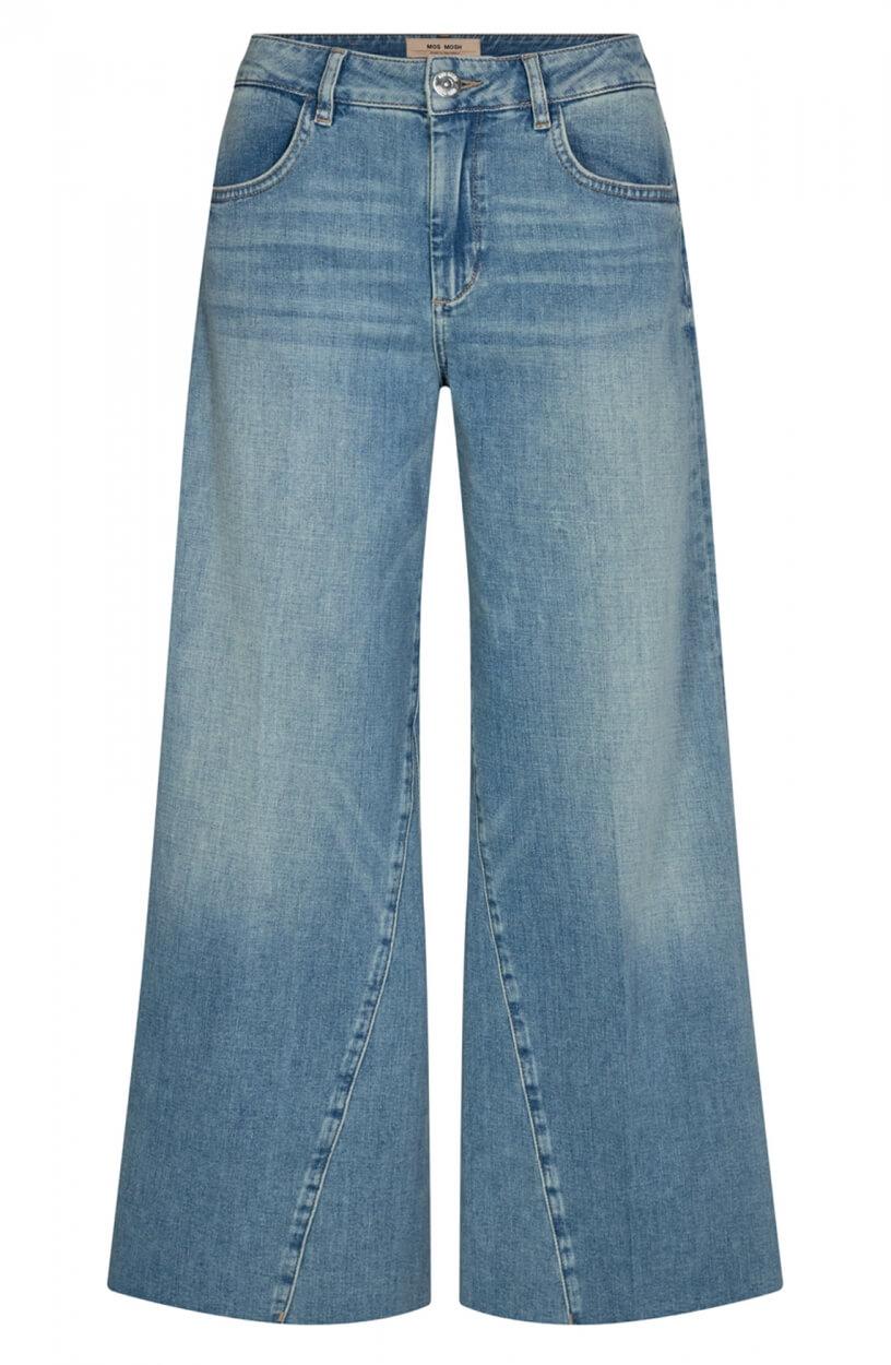 Mos Mosh Dames Reem flared jeans Blauw