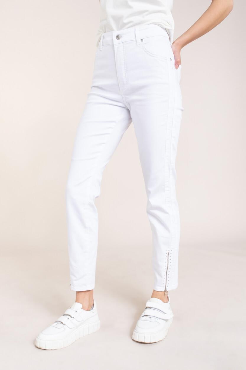 Rosner Dames L28 Audrey broek met rits Wit