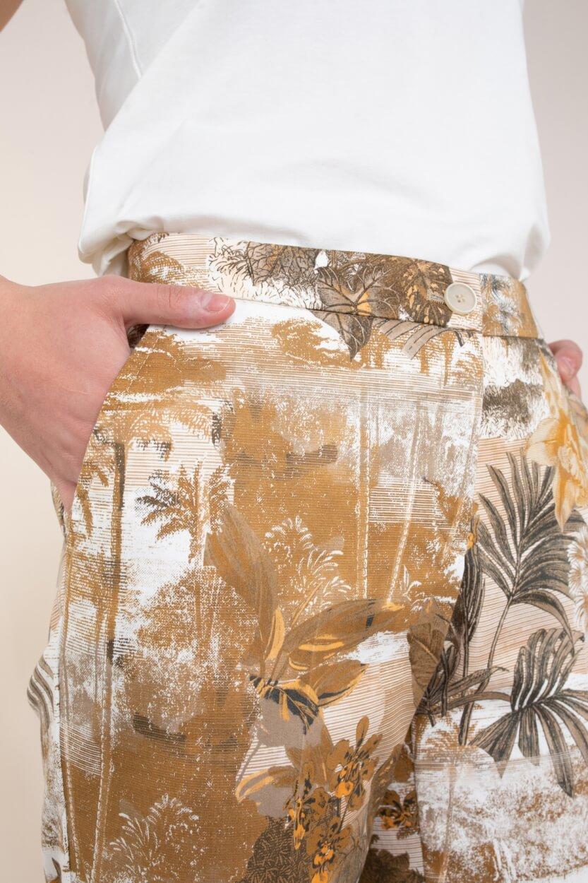 Brax Finest Dames Maron pantalon Bruin