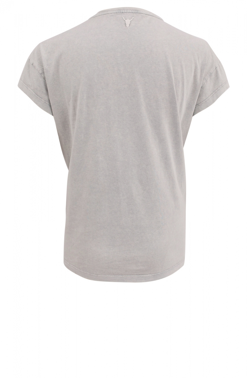 Alix The Label Dames University shirt Grijs