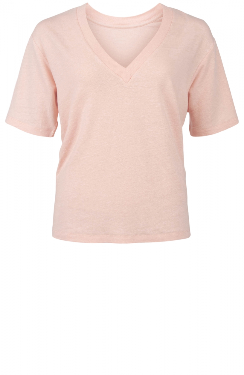 10 Days Dames V-hals shirt Roze