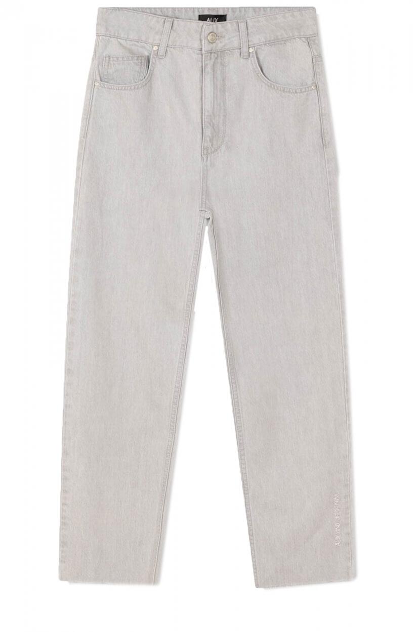 Alix The Label Dames Cropped jeans Grijs