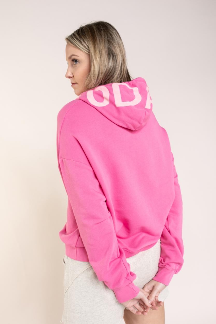 10 Days Dames Logo hoodie Roze