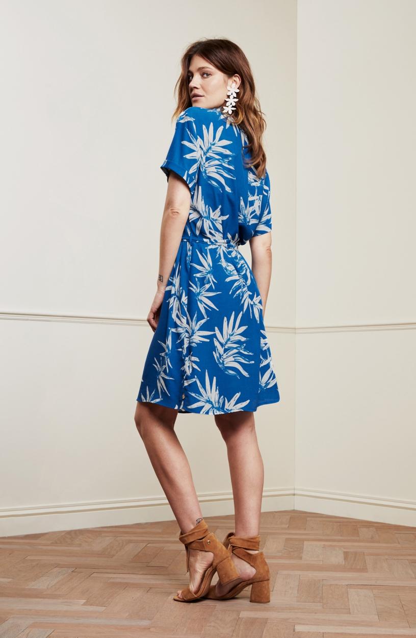 Fabienne Chapot Dames Boyfriend jurk Blauw