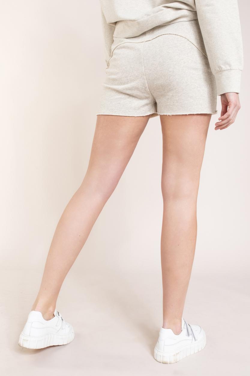 10 Days Dames Fleece shorts Wit