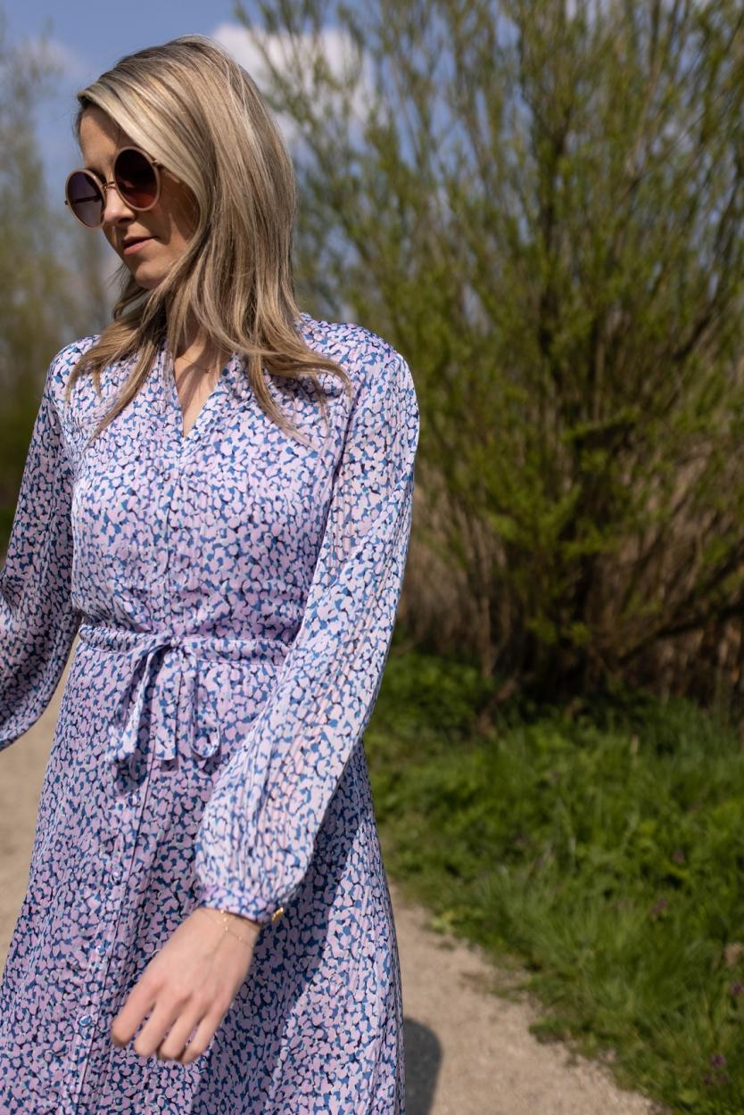 Fabienne Chapot Dames Frida jurk Blauw