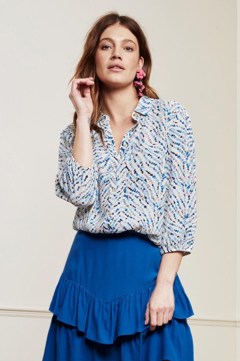 Fabienne Chapot Dames Gina blouse Wit