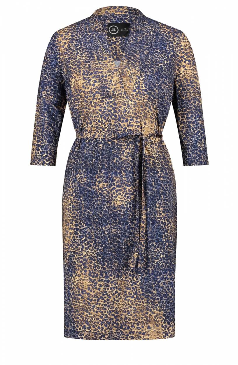 Jane Lushka Dames Kelly jurk Blauw