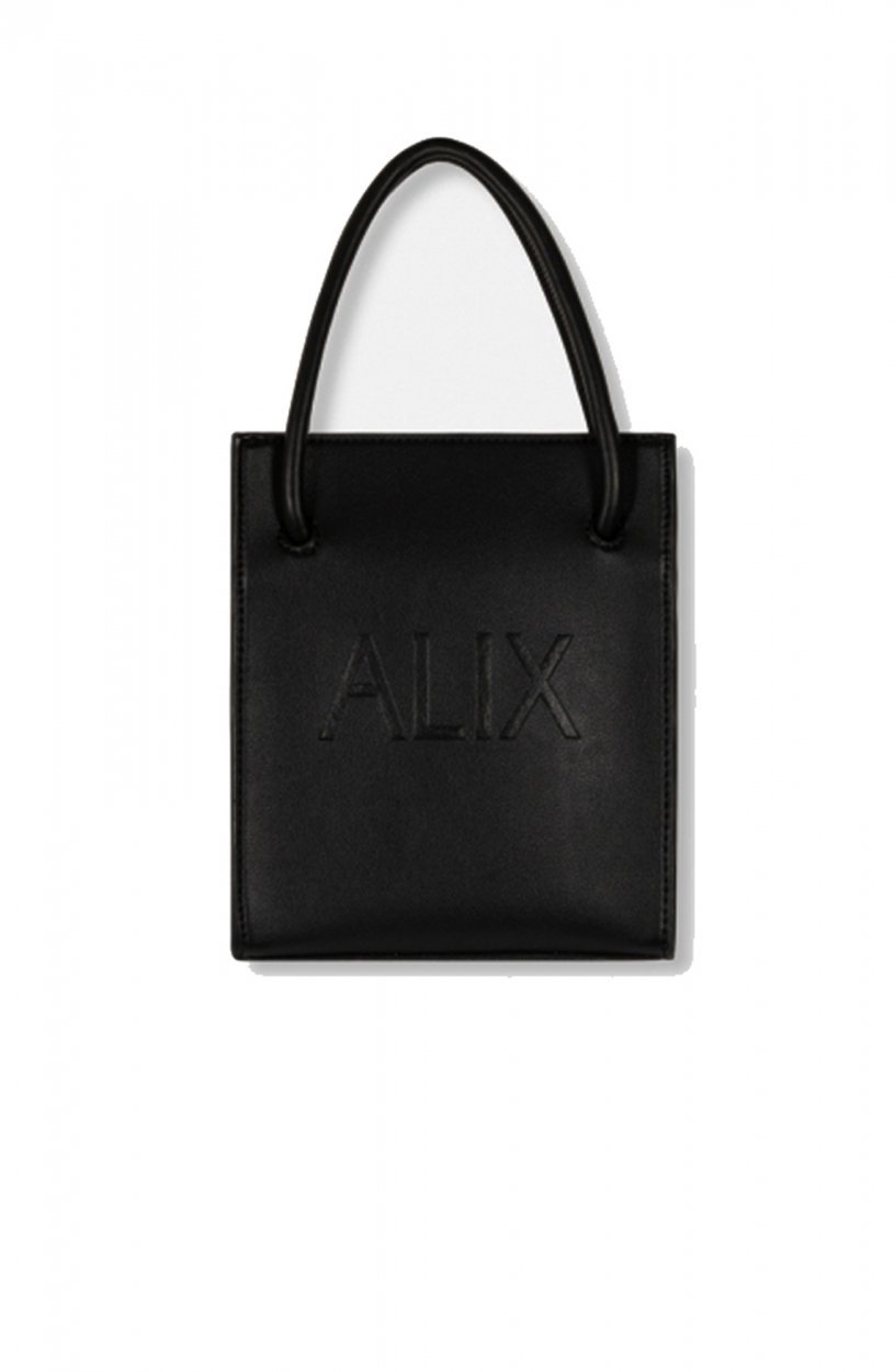 Alix The Label Dames Mini shopper Zwart