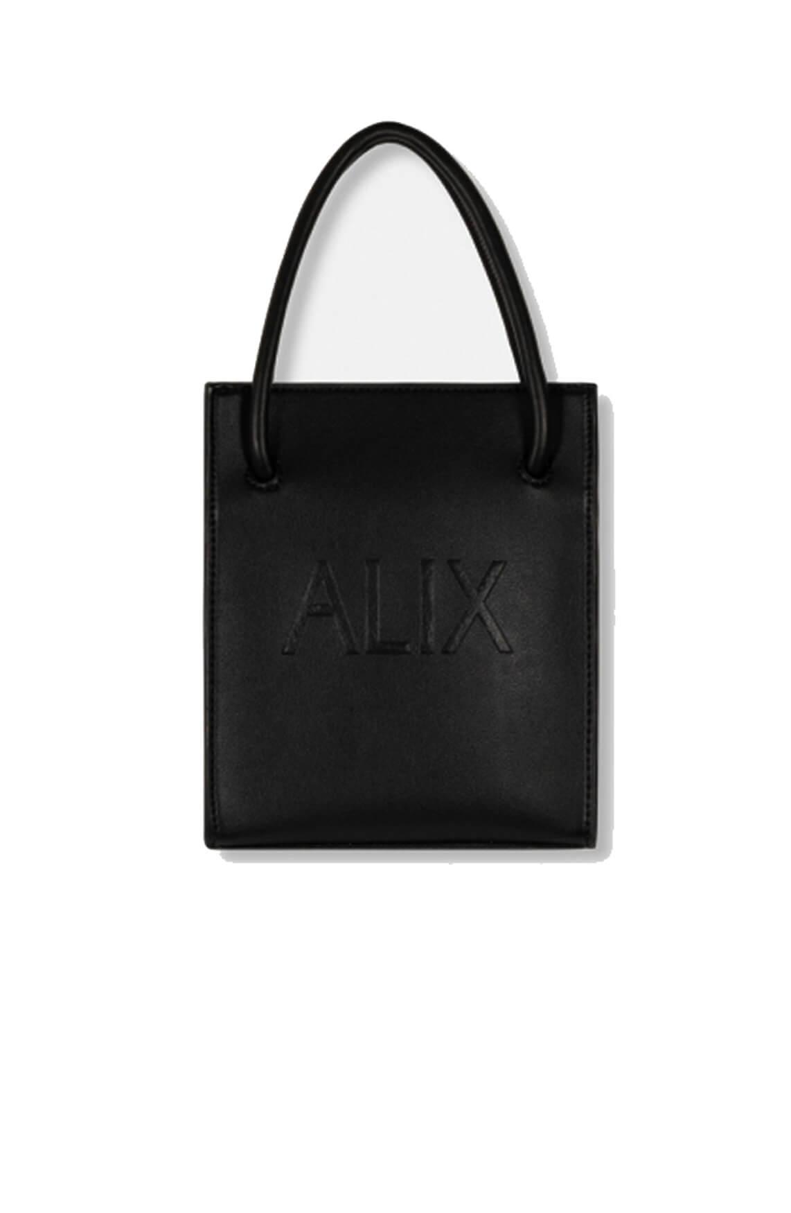 Alix The Label Dames Mini shopper Zwart