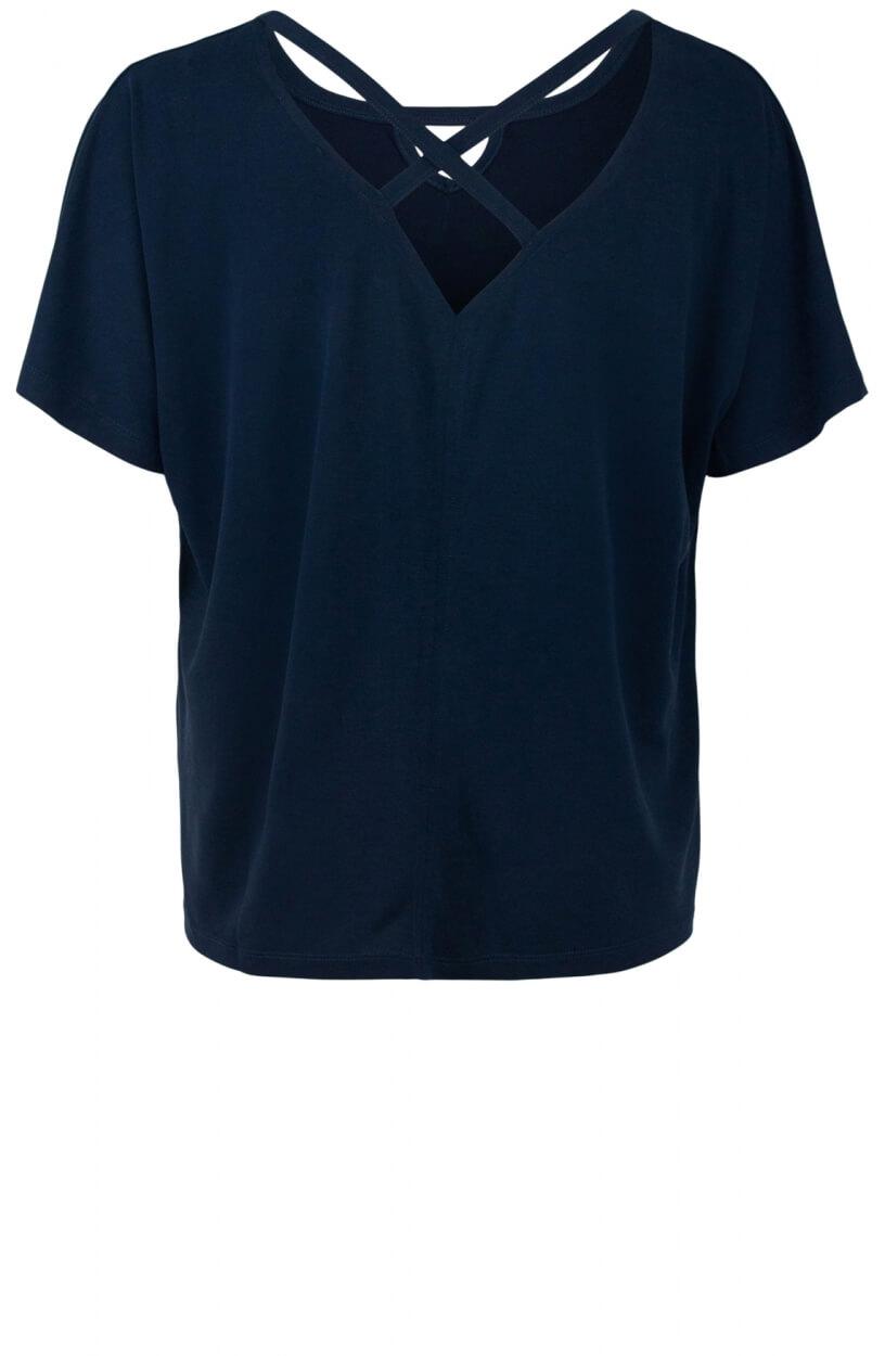Geisha Dames Kruisband shirt Blauw